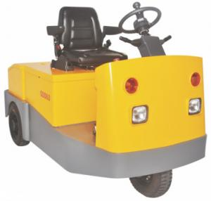 China Airport Electric Tow Tractor High Efficiency With Traction Weight 3000 KG on sale
