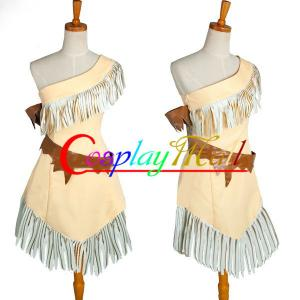 China Wholesale Cowgirl Indian Costumes Pocahontas Indian Princess Dress for Halloween Christmas on sale