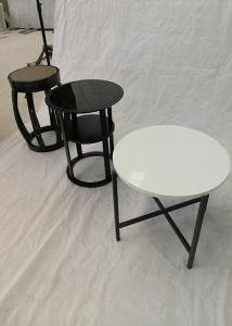 China Artificial stone dining tables top on sale