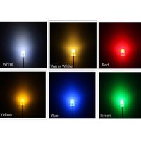 China Water Clear SMD Light Emitting Diode , Round Top Multi Color LED Diode on sale