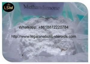 China Metandienone White Powder Bodybuilding Supplements Steroids Pharmaceutical Material on sale