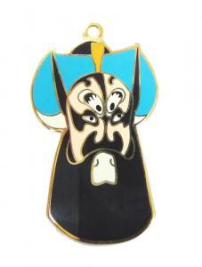 China Metal Dog tags / Custom Hang Tags, Aluminum sheet with black plastic frame on sale