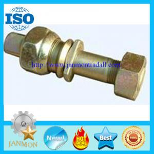 China Zinc galvanized hub bolt with nut,Zinc plated wheel bolt with nut,Auto bolt&nut,Auto Hub bolt&nut,Auto Wheel bolt&nut on sale