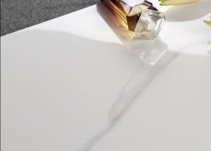 China Jet Full Body Marble Look Porcelain Tile , Polished Marble Porcelain Tile on sale