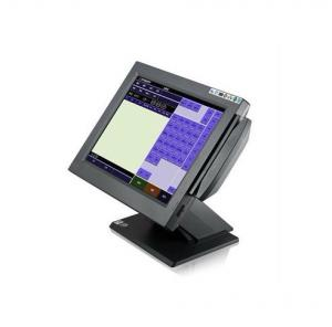 China 15 Inch Black Touch Panel Touch Screen POS Terminal, AC 100-240V, Intel NM10,MAX TDP 2.1W on sale