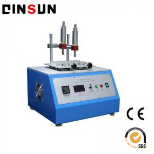 China alcohol rubbing testing equipment  for all types of plastic injection products on sale