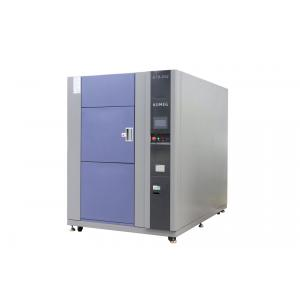 China High Low Ambient Temp Thermal Shock Test Chamber 3 Zones For Metal / Plastic / Rubber / Electronics TST-252 on sale