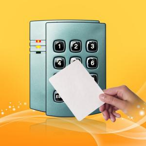 China 125 KHz Proximity Card Reader With Keypad Waterproof Wiegand 26/34 on sale
