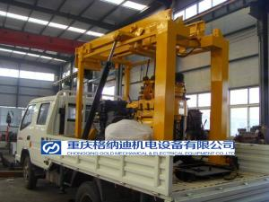 China Walking Crawler Drill Rig on sale