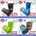 Custom Disposable Plastic Dog Poop Bag With LDPE + OXO Biodegradable