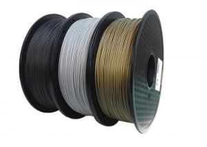 China Dimensional Accuracy +/-0.03 mm,Metal Filled 3D Printer Filament , on sale