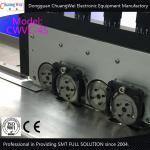 Cisaillement de coupe de carte PCB séparant le conseil en aluminium d'éclairage de LED avec à lames multiples