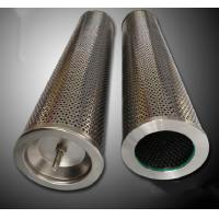 All Stainless Steel Air Compressor Oil Filter Cartridge Increased Contamination Control