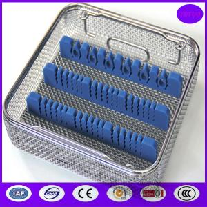 China medical stainless steel disinfecting basket wholesale for sterilization PRICE on sale