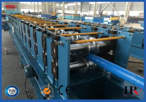 China Sealed Color Water Pipes Down Pipe Forming Machine / Curving Pipe Machine on sale