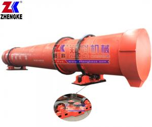 China Gypsum rotary dryer with CE ISO certifications(Skype:Zhengke-Serena Fu) on sale