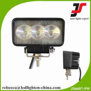 China 9W automotive light led working light bar for offroad 6000K on sale
