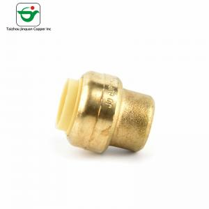 China NSF61 Approved 1/2 Copper Pipe End Cap For Square Steel Tubing on sale