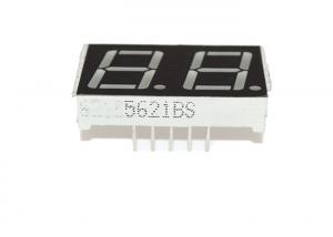 China 0.56 2 Digit 7 Segment LED Display ABS Material Common Cathode Type on sale