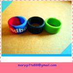 fashion finger silicone rubber wristband