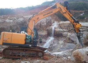 China Pd-45 Top Quality Excavator Mounted Drill on sale