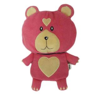 China Red Little Bear Stuffed Animal Gift Card Holder Plush Card Holder Soft Toy Accessories on sale