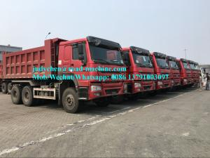 China SINOTRUCK HOWO 336/371 hp 8X4 heavy duty dump truck Front lifting, model ZZ3317N3267D1 on sale