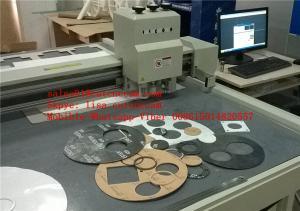 China Non Metallic Gasket Graphite Compressed Fibre PTFE Sheet Cutting Machine on sale