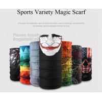 Sports Variety Magic Scarf,Most Popular Head Wrap Magic Mask Custom Neck Tube Bandana,Promotional Multi-Function Custom