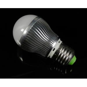 China 4W Aluminum E27 50 - 60Hz High Power Dimmable LED Bulbs For Durability Special Ambient on sale