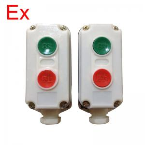 China Plastic Explosion Proof On Off Switch , Anti Corrosive Push Button Switch on sale