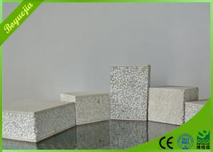 China Insulated sandwich foam panels , Interior Partition fireproof cement board on sale