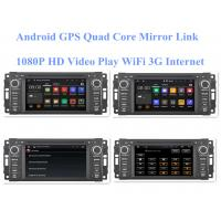 2008+ Stereo Audio Jeep DVD Player Android Gps Radio Double Din Sat Nav Bluetooth Car System