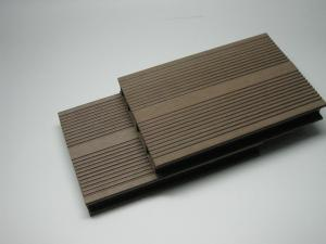 China Outdoor Recycled WPC Decking Flooring Wood-Plastic Composite Decking Boards on sale