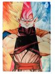 Wholesale/ Custom size and design 3d Flip Lenticular Anime Poster printing Dragon Ball Poster 3D Picture 3d Printing