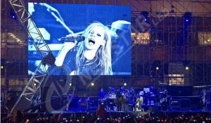 China Outdoor Rental P10.417 Stage LED screens , Concert Stage background led display on sale