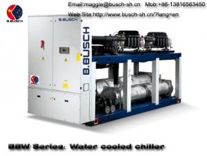 China BUSCH water cooling screw chiller for cooling water and air conditioning plant on sale