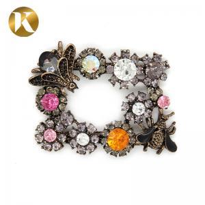 China New Fashion Decorative Shoe Clips Zinc Alloy / Iron  / Copper Mate on sale