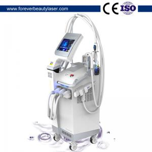China SHR IPL + Nd Yag Laser + Microneedle RF 3 in 1 Beauty Salon Equipment SHR IPL Hair Removal Device on sale