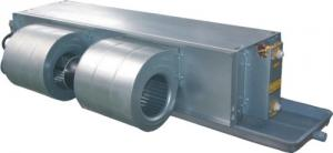 China Metal Blower Horizontal Ceiling Concealed Fan Coil Unit BLDC Motor Direct Drive on sale