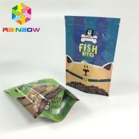 Mylar Ziplock Plastic Pouches Packaging Pet Feed Treats Bags Gravnre Printing