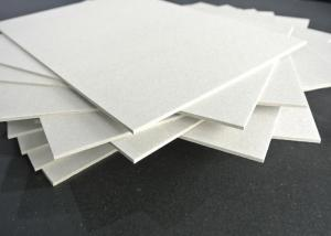 Quality Grade A Grey Chip Board with 100% Recycled Paper SGS Certificate Anti-Curl for sale