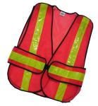 Unisex Outdoor High Visibility Work Uniforms / Custom Size Reflective Work Vest?