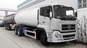 China 12 Ton 25m3 LPG Gas Tanker Truck Dongfeng Kinland DFAC Truck With Cummins Engine / FAST Gearbox on sale