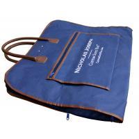 Nicholas Embroidery Logo Suit Garment Bag Oxford Fabric PU Handle