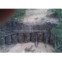 China Hot Dipped Hexagonal Wire Mesh / PVC Coated Wire Gabion Baskets For Reinforce Fabric on sale