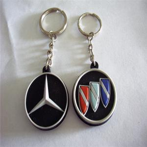 China 2014 new pattern factory direct sale famous car logo soft PVC keychain with high quality on sale