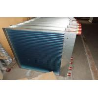 Hydrophilic Fin Window Type Aluminum Fin Air Cooled Heat Exchanger With Customized