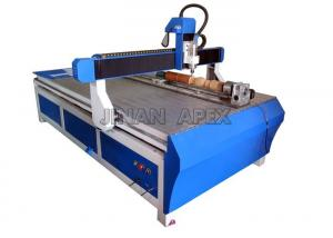 China Computer Controlled Cnc Wood Carving Machine , 3D Woodworking 4 Axis Cnc Wood Router on sale