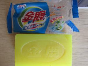 China Natural laundry detergent soap bars with rich foam on sale